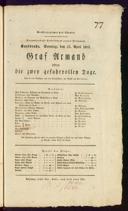 23.4.1815 <<Les>> deux journées ... [Cherubini, Luigi]