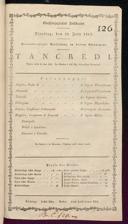 29.7.1817 Tancredi [Rossini, Gioachino]