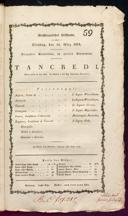 10.3.1818 Tancredi [Rossini, Gioachino]