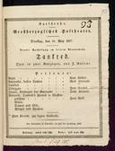 22.5.1827 Tancredi [Rossini, Gioachino]