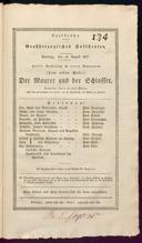 26.8.1827 <<Le>> maçon [Auber, Daniel-François-Esprit]