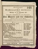 16.9.1827 <<Le>> maçon [Auber, Daniel-François-Esprit]