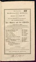 15.12.1827 <<Le>> maçon [Auber, Daniel-François-Esprit]