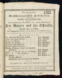14.10.1828 <<Le>> maçon [Auber, Daniel-François-Esprit]