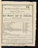 2.12.1828 <<Le>> maçon [Auber, Daniel-François-Esprit]