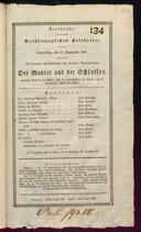 17.9.1829 <<Le>> maçon [Auber, Daniel-François-Esprit]