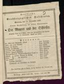 22.11.1829 <<Le>> maçon [Auber, Daniel-François-Esprit]