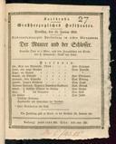 12.1.1830 <<Le>> maçon [Auber, Daniel-François-Esprit]