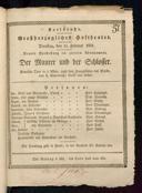 15.2.1831 <<Le>> maçon [Auber, Daniel-François-Esprit]