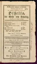 18.4.1833 Otello ... [Rossini, Gioachino]