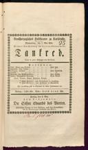 7.5.1835 Tancredi [Rossini, Gioachino]