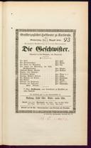 1.8.1844 <<Die>> Geschwister [Raupach, Ernst Benjamin Salomo]