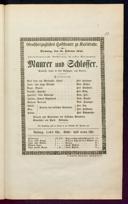 18.2.1845 <<Le>> maçon [Auber, Daniel-François-Esprit]