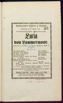 2.8.1849 Lucia di Lammermoor [Donizetti, Gaetano]