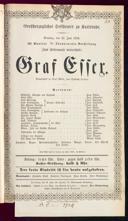 22.6.1856  Graf Essex [Laube, Heinrich]