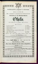 12.5.1865 Otello ... [Rossini, Gioachino]