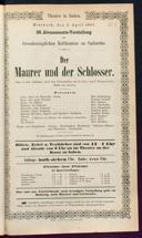 3.4.1867 <<Le>> maçon [Auber, Daniel-François-Esprit]