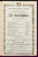 21.5.1868 <<Die>> Karlsschüler [Laube, Heinrich]