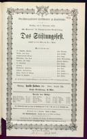 3.9.1872 <<Das>> Stiftungsfest [Moser, Gustav von]