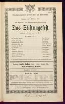 8.10.1872 <<Das>> Stiftungsfest [Moser, Gustav von]