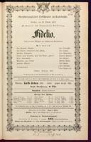 29.10.1872 Fidelio [Beethoven, Ludwig van]