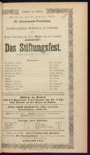 27.2.1878 <<Das>> Stiftungsfest [Moser, Gustav von]