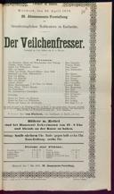 30.4.1879 <<Der>> Veilchenfresser [Moser, Gustav von]