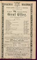 26.5.1882 Graf Essex [Laube, Heinrich]