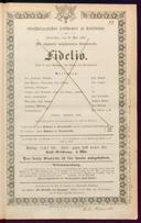 29.5.1862 Fidelio [Beethoven, Ludwig van]