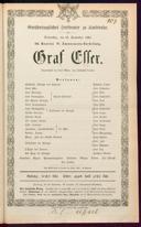 25.9.1862 Graf Essex [Laube, Heinrich]