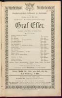 19.5.1863 Graf Essex [Laube, Heinrich]