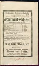 1.1.1837 <<Le>> maçon [Auber, Daniel-François-Esprit]