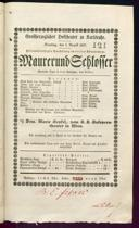 1.8.1837 <<Le>> maçon [Auber, Daniel-François-Esprit]