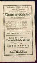 12.11.1837 <<Le>> maçon [Auber, Daniel-François-Esprit]
