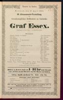 27.4.1864 Graf Essex [Laube, Heinrich]