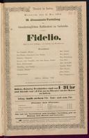 11.5.1864 Fidelio [Beethoven, Ludwig van]