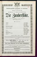 29.5.1864 <<Die>> Zauberflöte [Mozart, Wolfgang Amadeus]