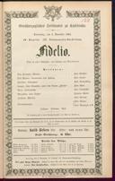 3.11.1864 Fidelio [Beethoven, Ludwig van]