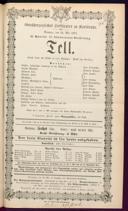 18.5.1873 Guillaume Tell [Rossini, Gioachino]
