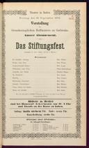 26.9.1873 <<Das>> Stiftungsfest [Moser, Gustav von]