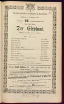 10.2.1874 <<Der>> Elephant [Moser, Gustav von]