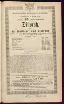 12.2.1874 Dinorah [Meyerbeer, Giacomo]