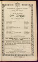 26.2.1874 <<Der>> Elephant [Moser, Gustav von] | <<La>> juive [Halévy, Fromental]