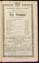 13.3.1874 <<Der>> Elephant [Moser, Gustav von]