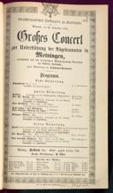 23.9.1874 Konzert | Ultimo [Moser, Gustav von]