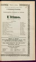25.11.1874 Ultimo [Moser, Gustav von]