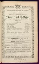 12.3.1875 <<Le>> maçon [Auber, Daniel-François-Esprit]
