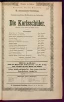 12.5.1875 <<Die>> Karlsschüler [Laube, Heinrich]