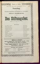 20.9.1875 <<Das>> Stiftungsfest [Moser, Gustav von]