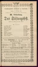 18.4.1876 <<Das>> Stiftungsfest [Moser, Gustav von]
